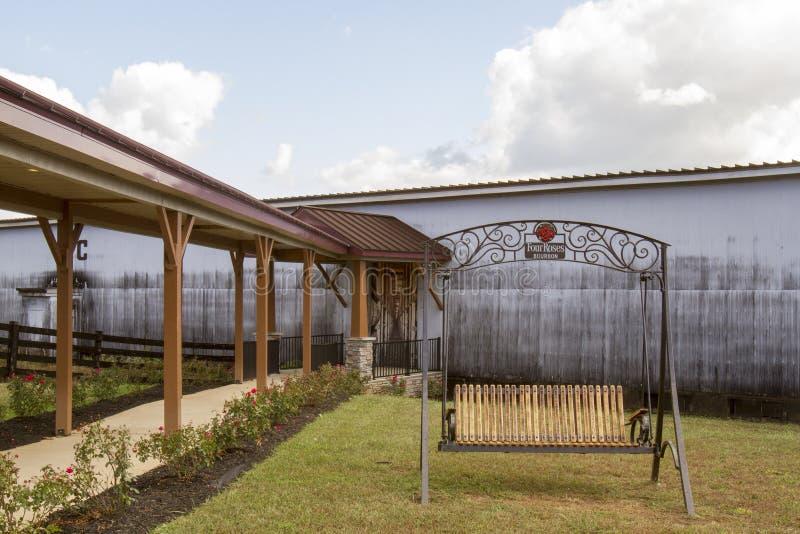 Rik dom przy Cztery róż destylarnią zdjęcia stock