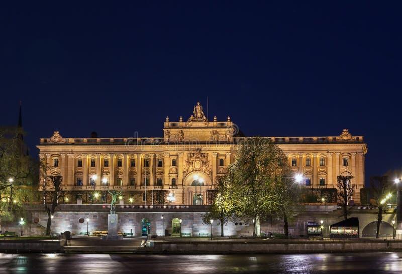 Riksdag, Στοκχόλμη στοκ εικόνες με δικαίωμα ελεύθερης χρήσης