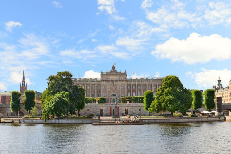 Riksdag - το σουηδικό Κοινοβούλιο Στοκχόλμη, Σουηδία στοκ εικόνες
