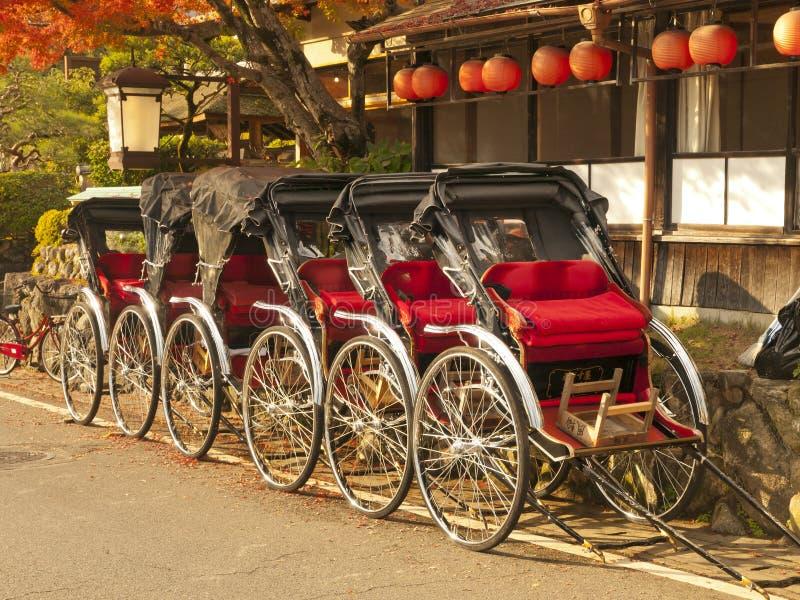 Riksza w Japonia obrazy royalty free