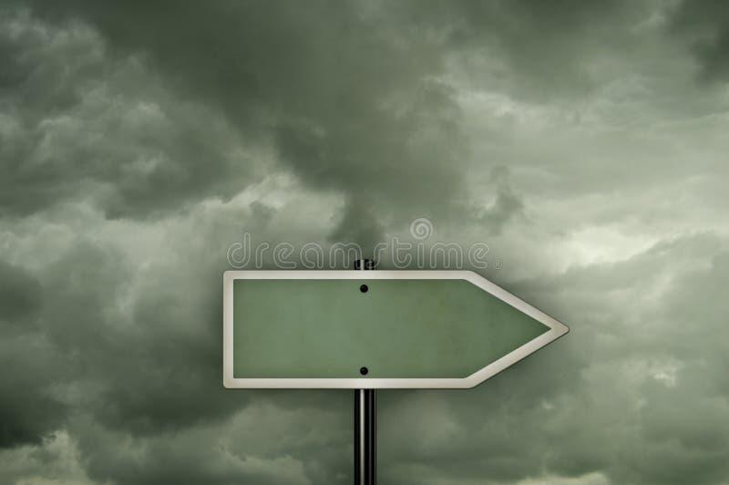 riktning arkivfoto