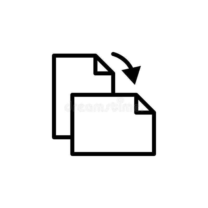 Riktningssidasymbol Kan användas för rengöringsduken, logoen, den mobila appen, UI, UX vektor illustrationer