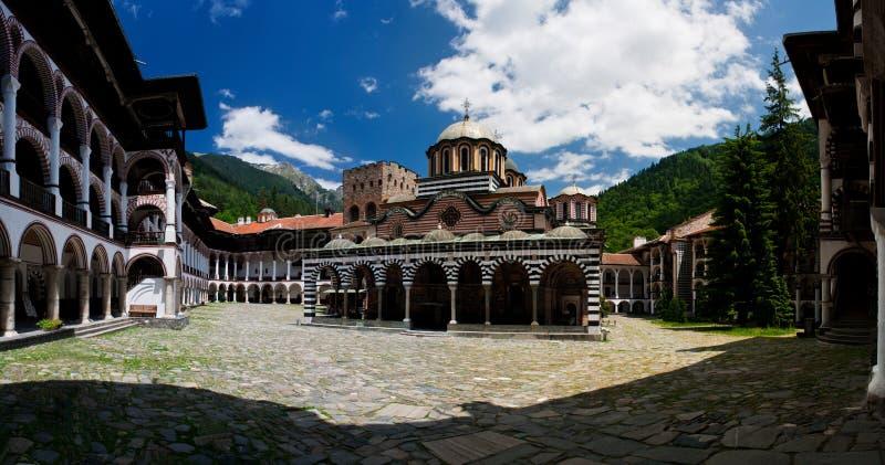 rila скита Болгарии стоковые изображения