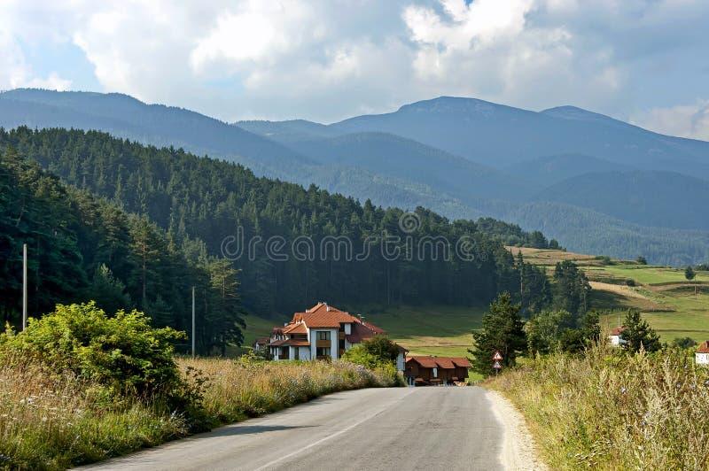 Rila Berg, Bulgarien lizenzfreie stockbilder