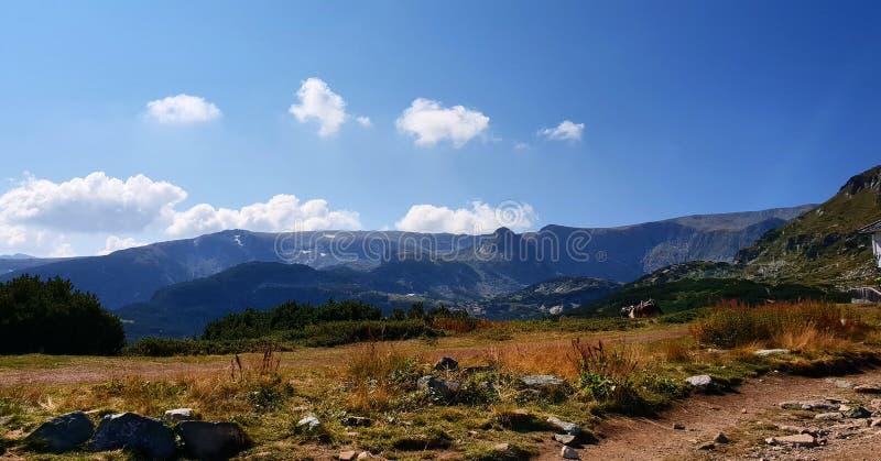 Rila Berge in Bulgarien lizenzfreies stockbild