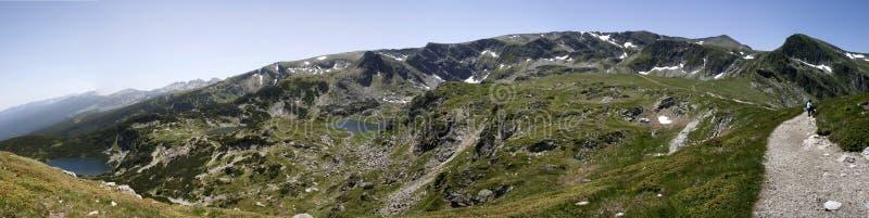 Rila jeziora zdjęcie royalty free