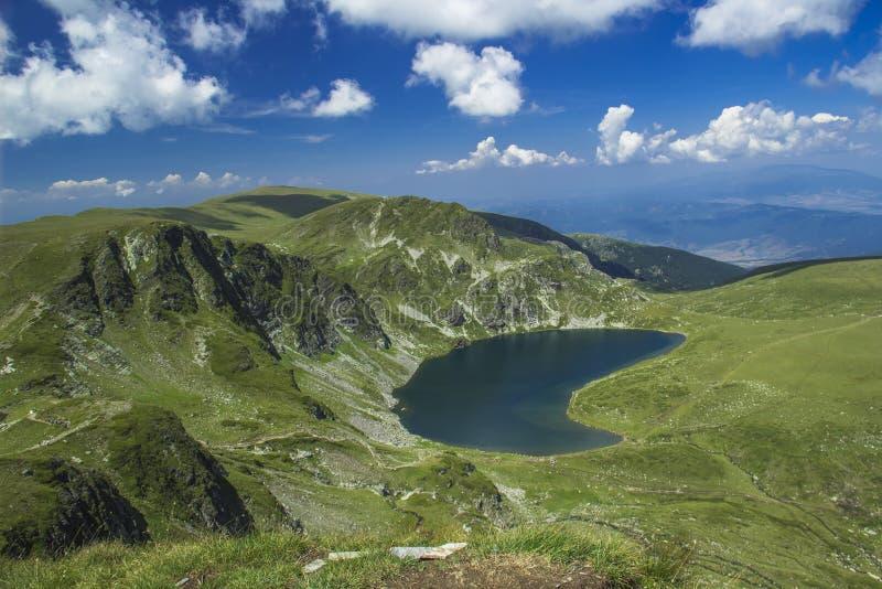 Rila lakes, Bulgaria. The Kidney - Rila lakes, Bulgaria royalty free stock photography