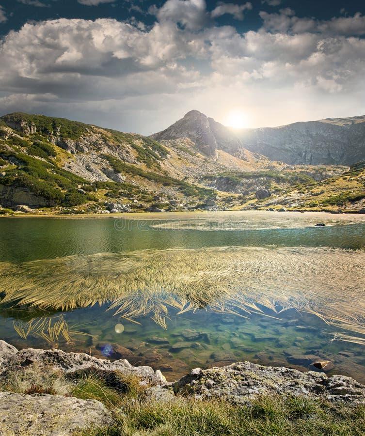 Rila Lakes. Lakes in Rila mountain, Bulgaria stock photos