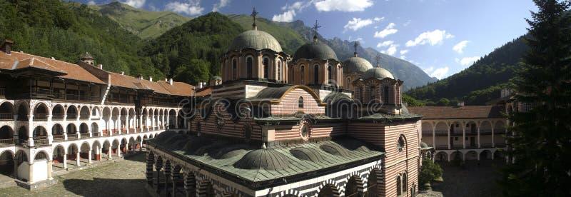 Rila monastery in Bulgaria. Rila monastery is the biggest monastery in Bulgaria royalty free stock photography