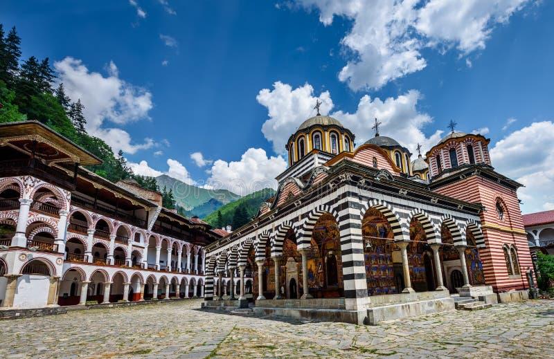 Rila monastery. A famous monastery in Bulgaria stock photos