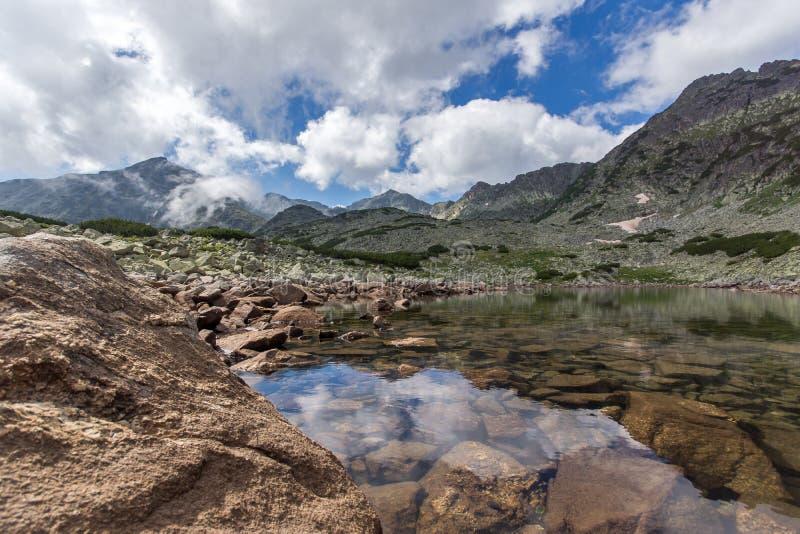 Rila Mountain, Musalenski Lakes. And Musala Peak, Bulgaria royalty free stock image