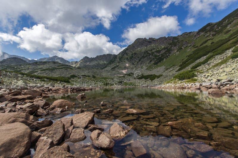 Rila Mountain, Musalenski Lakes. And Musala Peak, Bulgaria royalty free stock photo