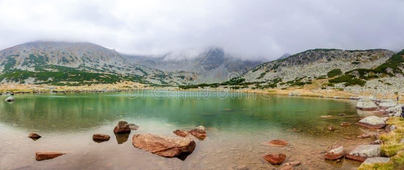 Rilaberg - Bulgarije Musala stock afbeeldingen