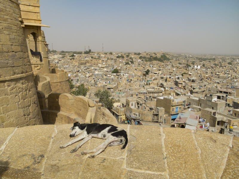 Rilassandosi in Jaisalmer fotografia stock libera da diritti