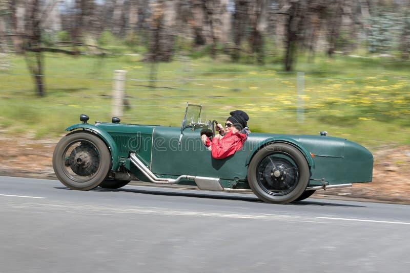 1929 Riley Brooklands 9 terenówka zdjęcie royalty free