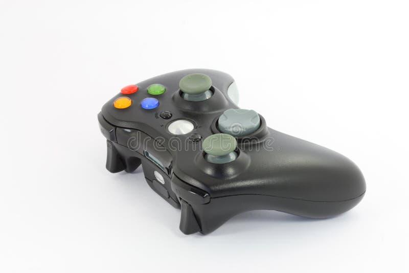 Rilievo di controllo del video gioco fotografia stock