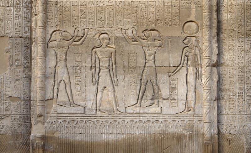 Rilievo di pietra al tempiale di Esana immagini stock