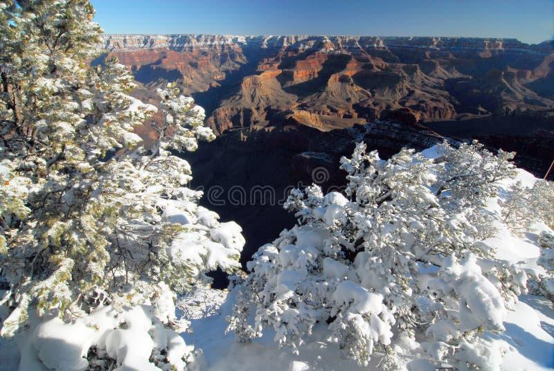 RIM du sud en hiver images stock