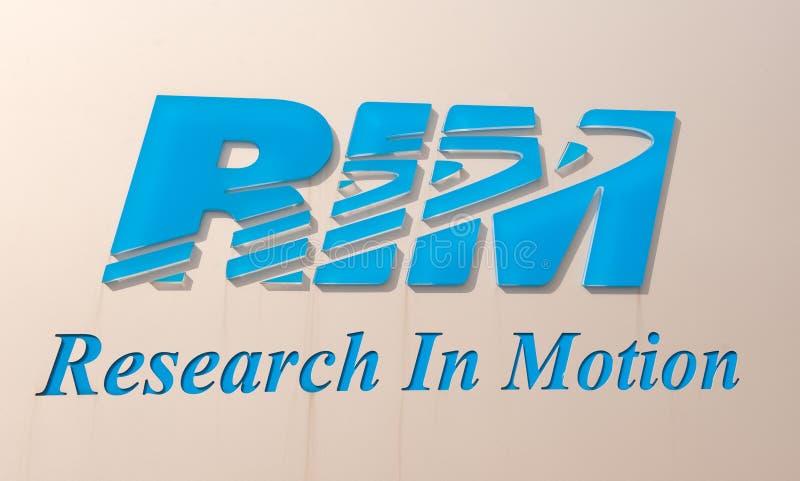 RIM Logo Editorial Stock Image