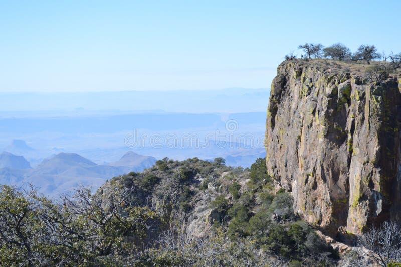 Rim Trail del sur, parque nacional de la curva grande fotografía de archivo libre de regalías