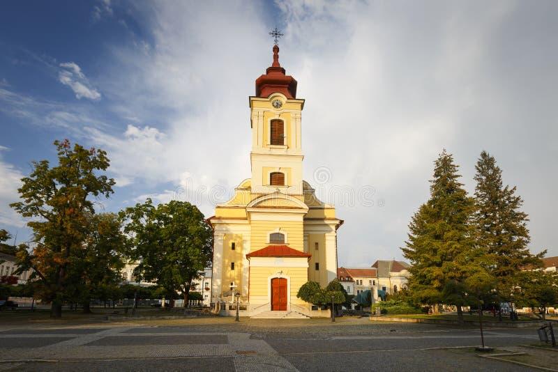 Rimavska Sobota,斯洛伐克 免版税库存照片