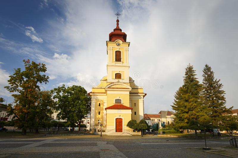 Rimavska Sobota, Slovacchia fotografia stock libera da diritti