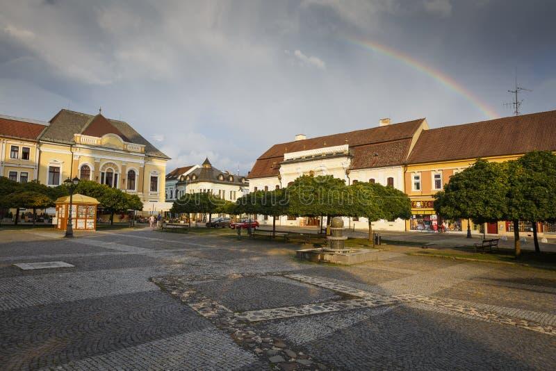 Rimavska Sobota, Slowakei stockfoto