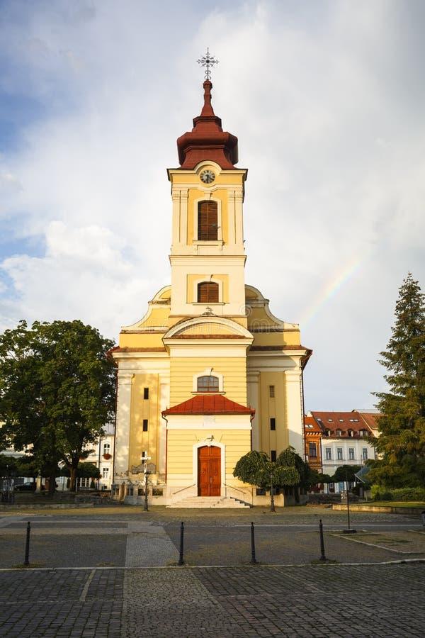 Rimavska Sobota, Slowakei stockbilder