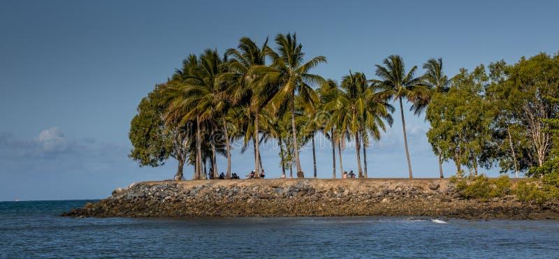 Rimessa per imbarcazioni Port Douglas fotografia stock