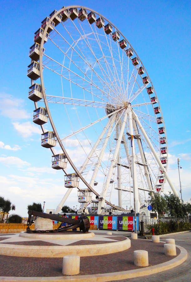 Rimini Ferris koło zdjęcie royalty free