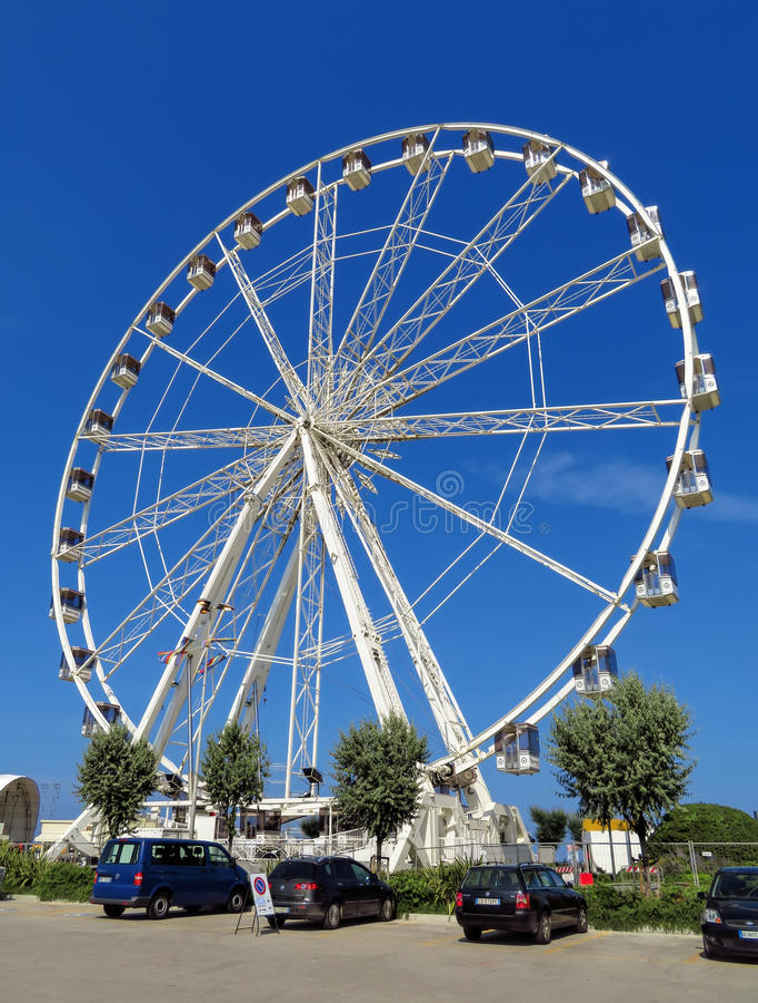 rimini, Ferris koło - zdjęcia royalty free