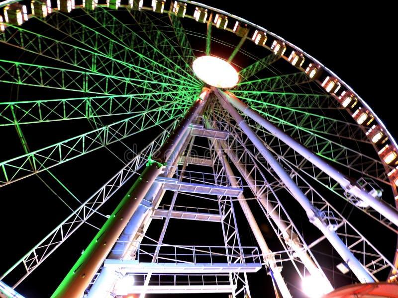 Rimini Ferris Wheel stock afbeelding