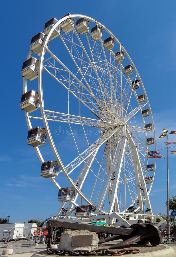Rimini - grande roue images libres de droits
