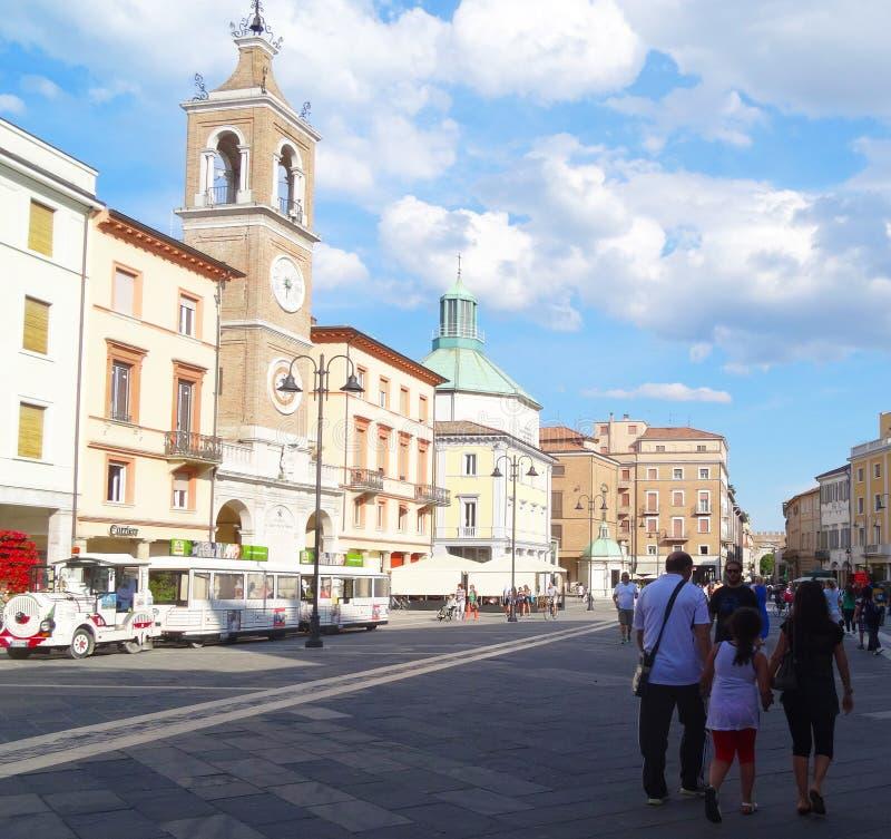 Rimini, Itália imagens de stock royalty free