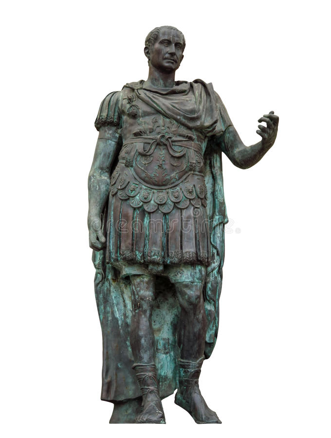 Free Rimini - Julius Caesar Statue - Isolated Stock Images - 97495024