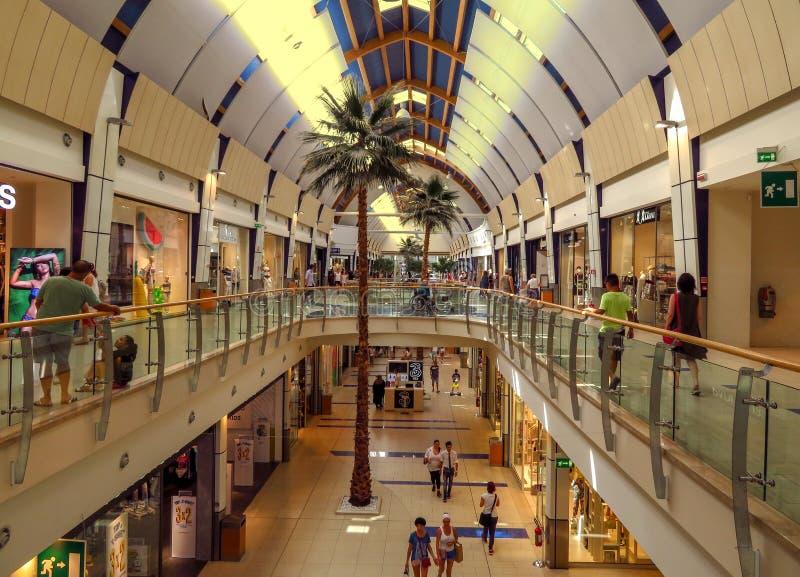 Rimini - Le Befane Centre del commercio fotografie stock libere da diritti