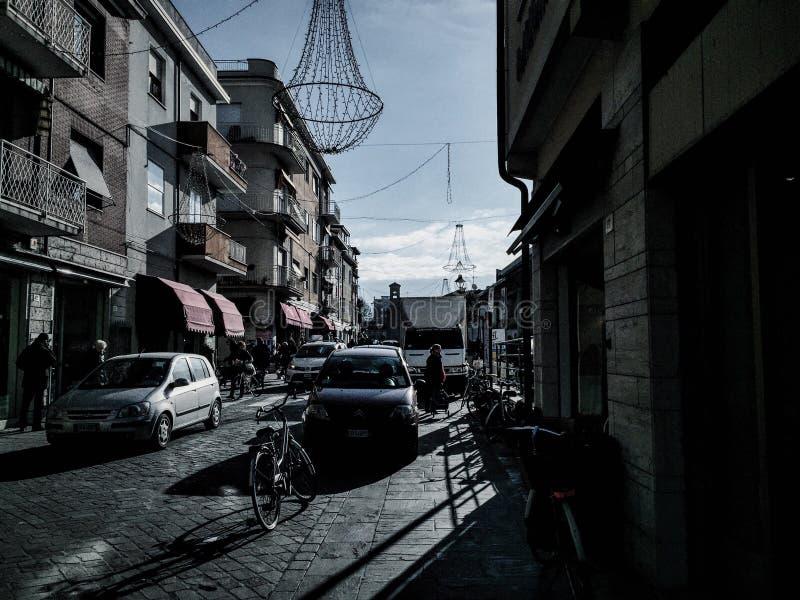 Rimini market stock images