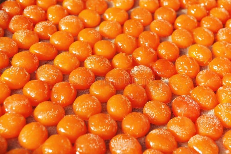 rimmad yolk för ägg royaltyfria foton