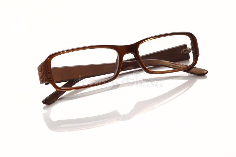 rimmed glasögonplast- royaltyfria foton