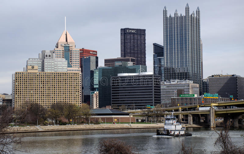 Rimorchiatore di Pittsburgh immagine stock libera da diritti