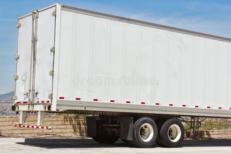 Rimorchio del camion immagine stock