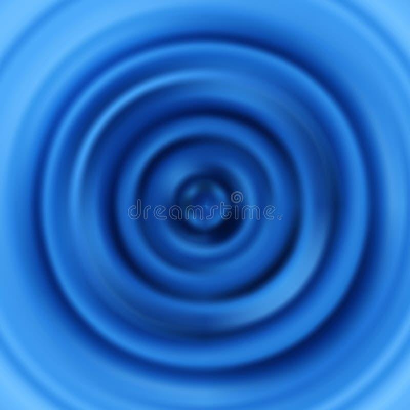 rimpelingen Cirkeltrillingen Vector patroon royalty-vrije illustratie