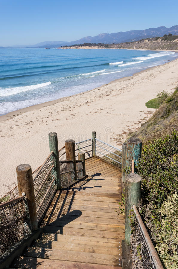 Download Rincon Park Beach Access Stock Image. Image Of Wooden   34310045