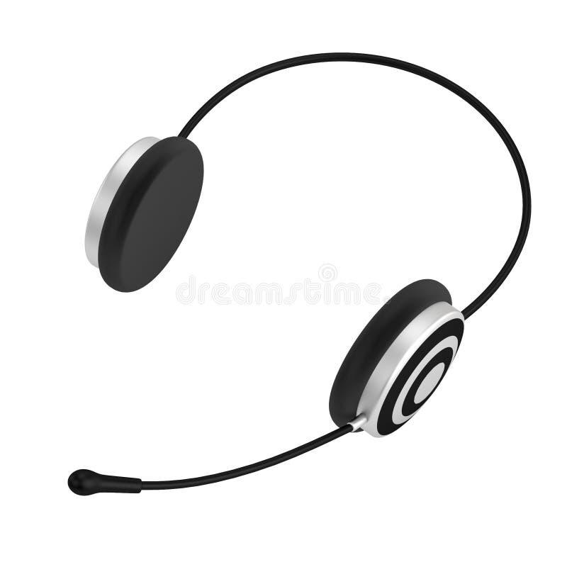 Rinda de auriculares ilustración del vector