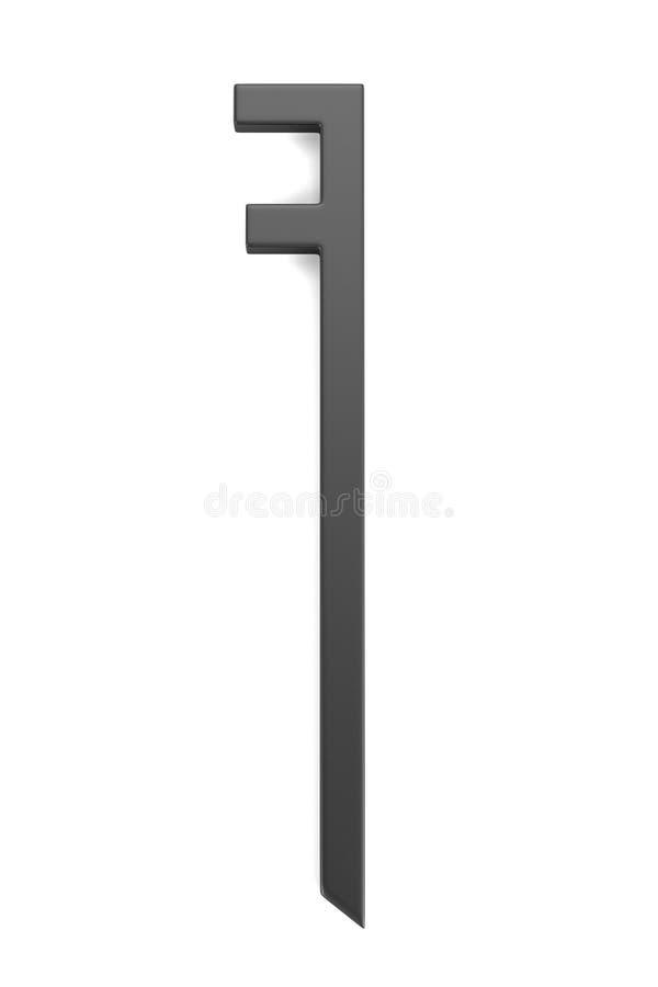 Rinda de la herramienta del herrero stock de ilustración