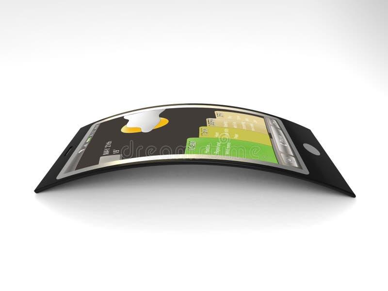 Móvil de la nueva tecnología ilustración del vector