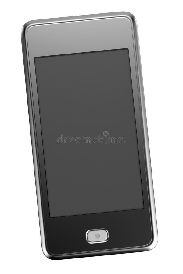 rinda de touchphone ilustración del vector