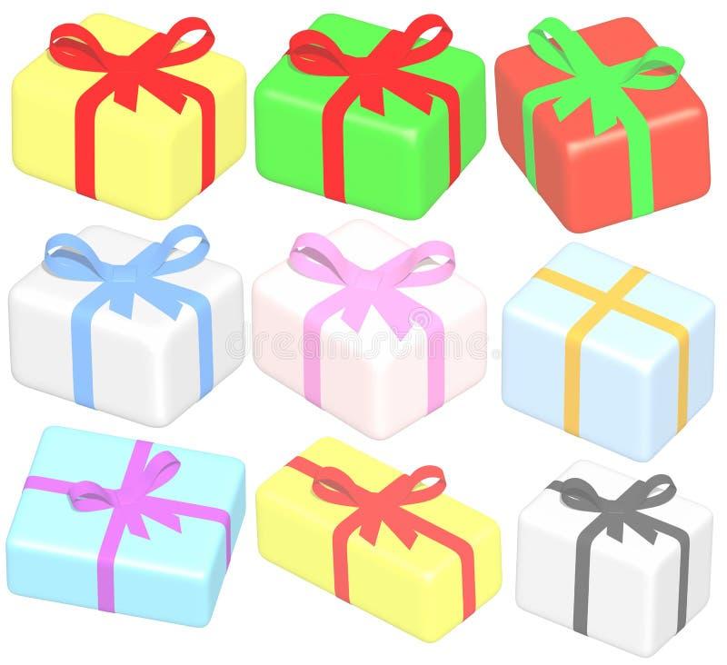 Rinda: presentes stock de ilustración