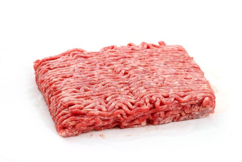 Rinderhackfleisch lizenzfreie stockbilder