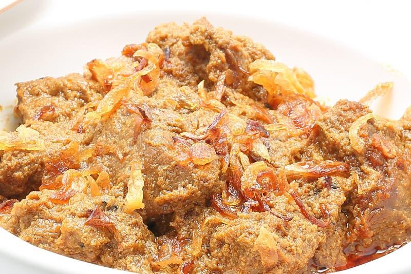Rindfleisch-Curry Mezban stockbilder